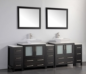 Vanity Art - Bathroom Vanity Set - VA3130-96E - Espresso