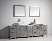Vanity Art - Bathroom Vanity Set - VA3130-96G - Grey