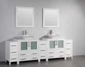 Vanity Art - Bathroom Vanity Set - VA3130-96W - White