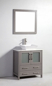Vanity Art - Bathroom Vanity Set - VA3130G - Grey