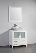 Vanity Art - Bathroom Vanity Set - VA3130W - White