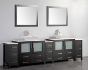 Vanity Art - Bathroom Vanity Set - VA3136-108E - Espresso