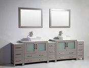 Vanity Art - Bathroom Vanity Set - VA3136-108G - Grey