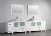 Vanity Art - Bathroom Vanity Set - VA3136-108W - White