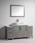 Vanity Art - Bathroom Vanity Set - VA3136-60G - Grey