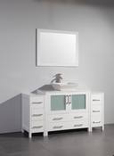 Vanity Art - Bathroom Vanity Set - VA3136-60W - White