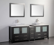 Vanity Art - Bathroom Vanity Set - VA3136-84E - Espresso