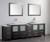 Vanity Art - Bathroom Vanity Set - VA3136-96E - Espresso