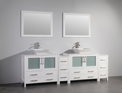 Vanity Art - Bathroom Vanity Set - VA3136-96W - White
