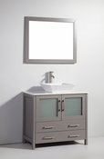 Vanity Art - Bathroom Vanity Set - VA3136G - Grey
