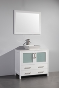 Vanity Art - Bathroom Vanity Set - VA3136W - White