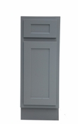 Vanity Art - Ready to Assemble Cabinet - VA4015-1G - Grey