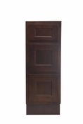 Vanity Art - Ready to Assemble Cabinet - VA4015-3B - Brown