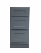 Vanity Art - Ready to Assemble Cabinet - VA4015-3G - Grey