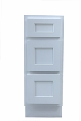 Vanity Art - Ready to Assemble Cabinet - VA4015-3W - White