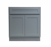 Vanity Art - Ready to Assemble Cabinet - VA4024G - Grey