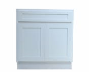 Vanity Art - Ready to Assemble Cabinet - VA4024W - White