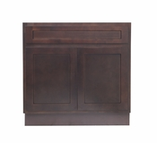 Vanity Art - Ready to Assemble Cabinet - VA4030B - Brown