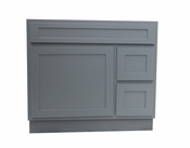 Vanity Art - Ready to Assemble Cabinet - VA4036-2RG - Grey