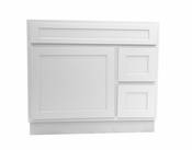 Vanity Art - Ready to Assemble Cabinet - VA4036-2RW - White