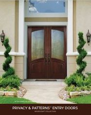 Woodcraft Privacy & Patterns Entry Doors