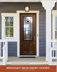 Woodcraft Wrought Iron Entry Doors