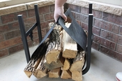 Woodhaven Hearth Heaven Carrier Rack