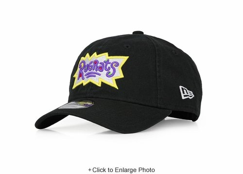 Nickelodeon Rugrats Nicktoons Jet Black New Era 9TWENTY Dad Hat