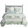 Brea Oversize Coverlet Set Twin Size 2PC
