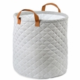 Foldable Gray Storage Bin Closet Toy Box Container Organizer Fabric Basket