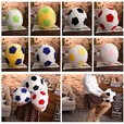 Stuffed Football Soccer Soft Toy Sports Plush Toy for Kids Decorative Cushion
