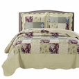 Tania Oversize Coverlet Set Twin Size 2PC