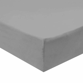 Twin Extra Long Fitted Sheet 340 Thread Count 100% Cotton - Gray