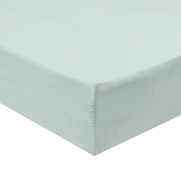 Twin Extra Long Fitted Sheet 340 Thread Count 100% Cotton - Sea