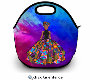 African Lady Lunch Bag
