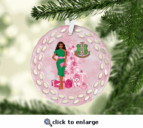 AKA Glamour Lady Ornament