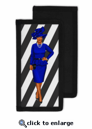 Lady Queen Checkbook Cover