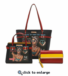 Latoya Three In One Tote Bag Set