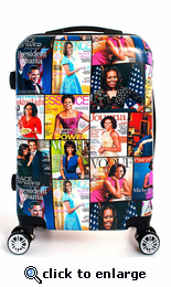 Michelle Obama Carry On Hardside Luggage