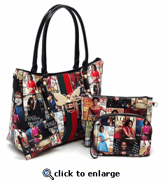 Michelle Obama Queen Bee Four-In-One Purse