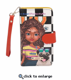 Nikky by Nicole Lee Sasha The Cutie Universal Phone Case