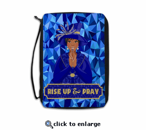 Rise Up and Pray Bible Cover