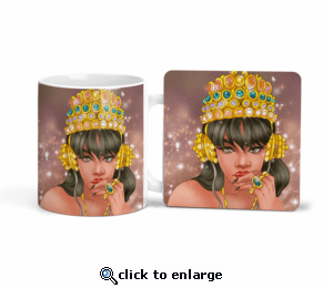Royalty Mug/Coasters or Set
