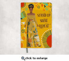 Stand Up Leather Journal