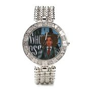 Who'S The Boss Silver Watch
