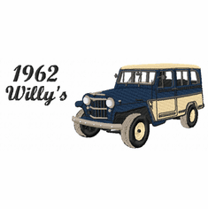 1962willys 1962 Willy's Jeep (small or large design)