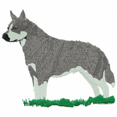 acd002 American Cattle Dog (small or large design)