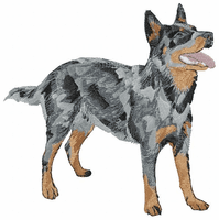 acd004 Australian Cattle Dog (small or large design)