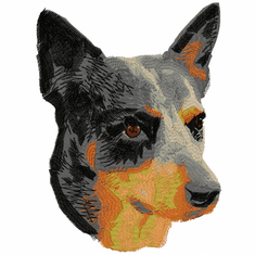 acd009 Australian Cattle Dog (small or large design)