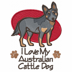 acd013 American Cattle Dog (small or large design)
